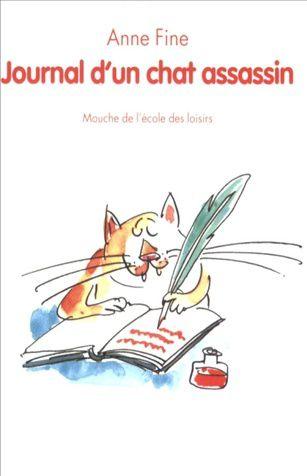 2 activités rédaction autour de Journal d'un chat assassin