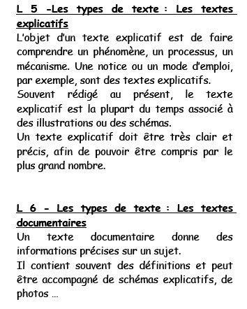 règles de lecture