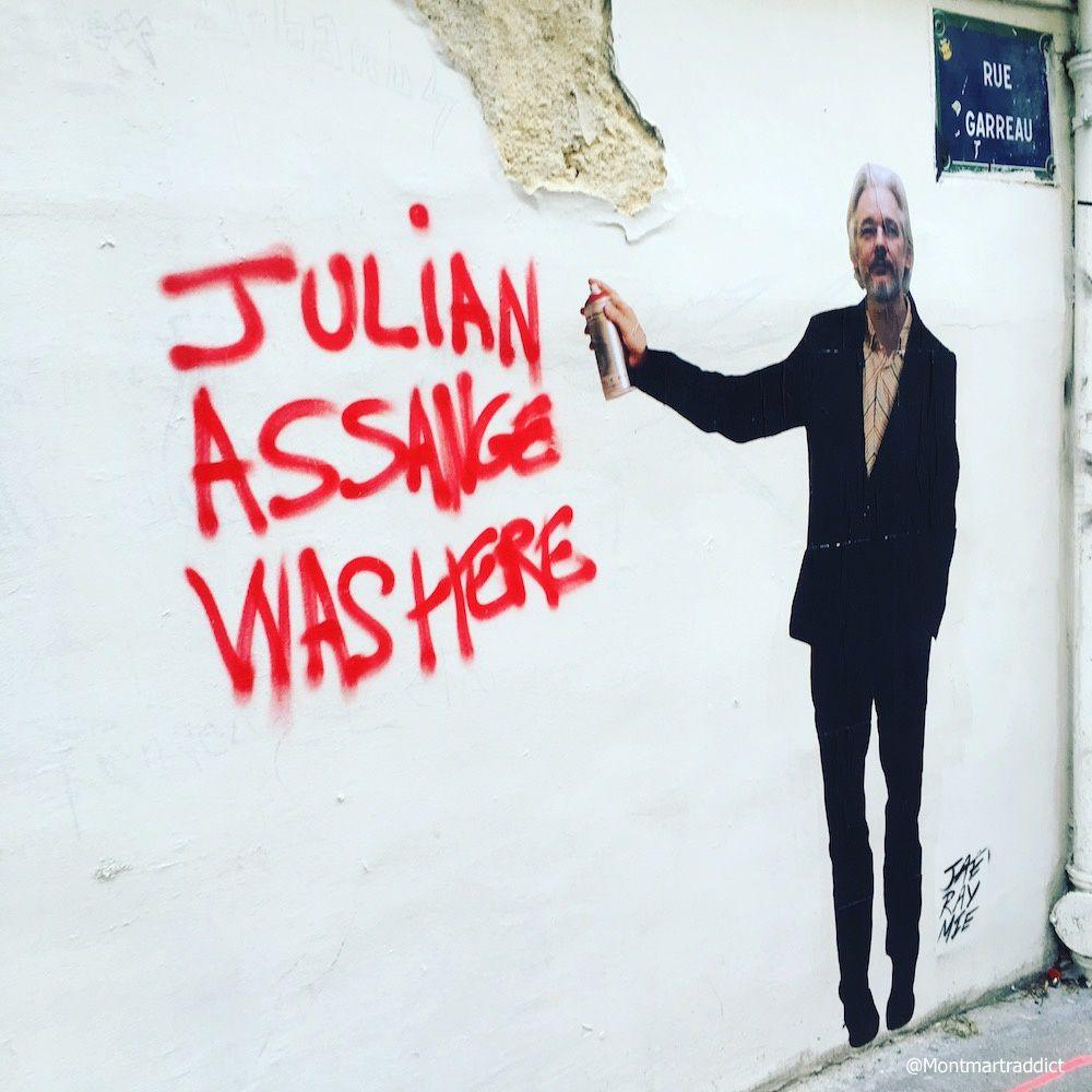 08. Street-art in Montmartre, 75018