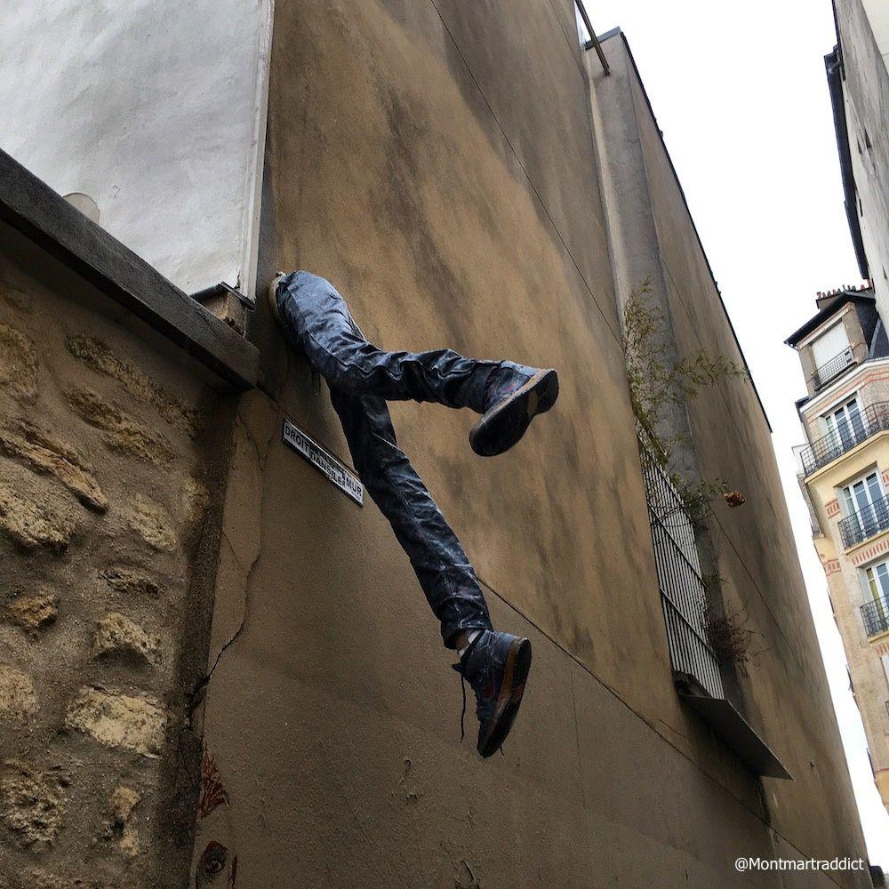 03. Un nouveau passe-muraille à Montmartre, 75018
