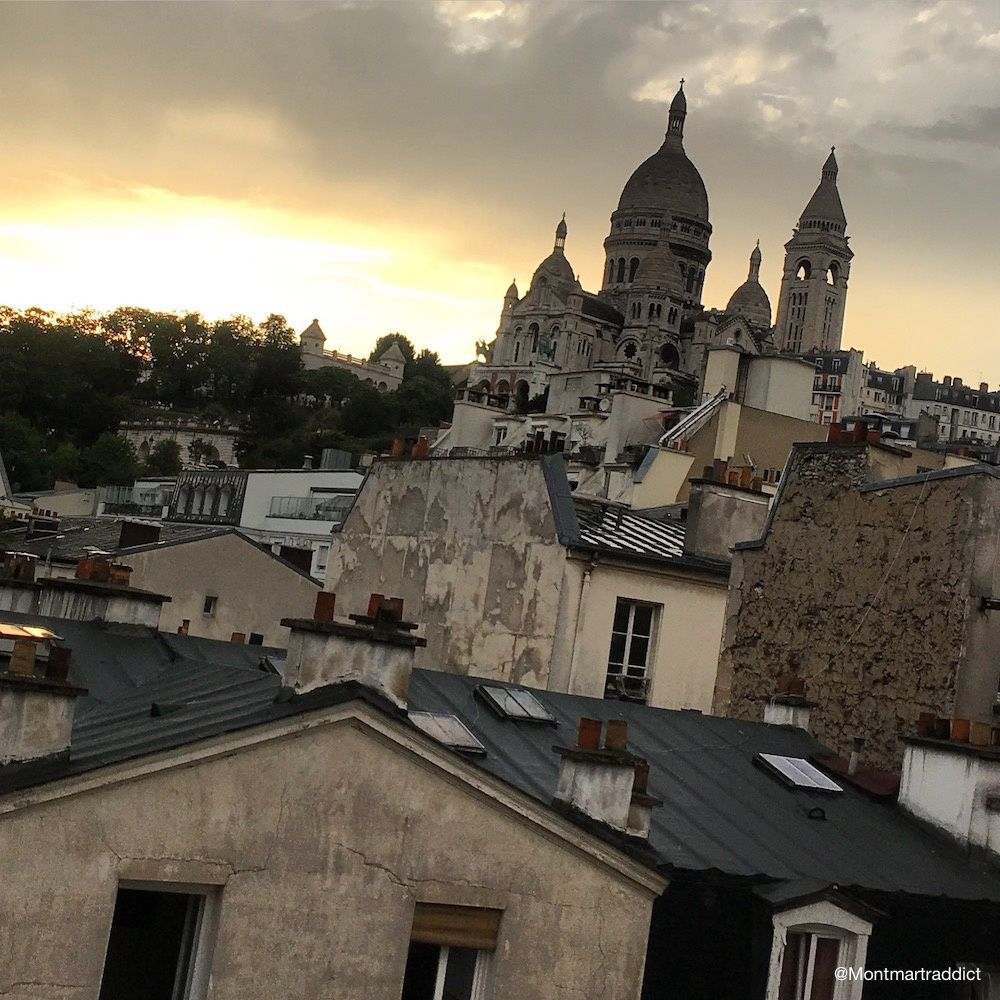 32. Sunset in Montmartre, 75018