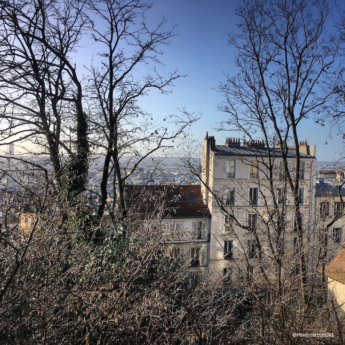 12. View from Montmartre, 75018