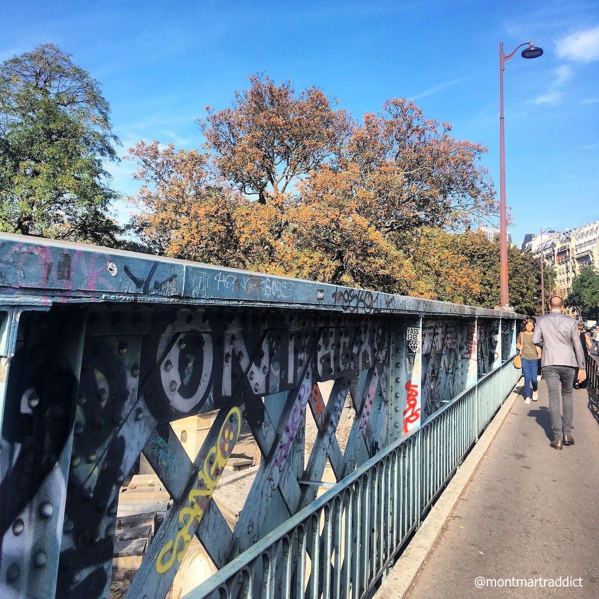 04. Pont Caulaincourt, Montmartre 75018