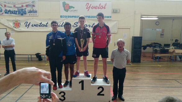 Championnats de Normandie : Quatre podiums pour nos jeunes