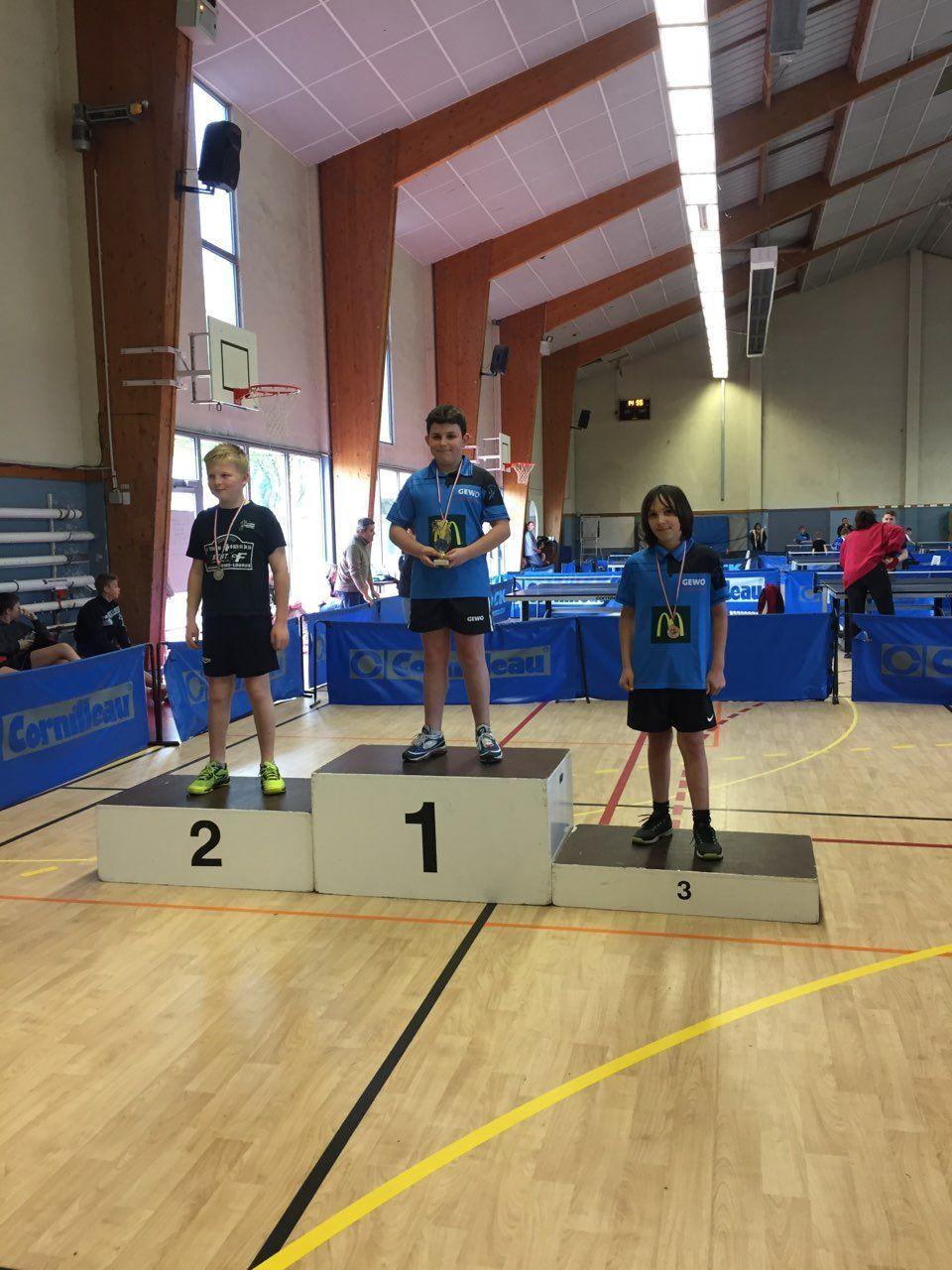 Circuit des jeunes : Trois podiums