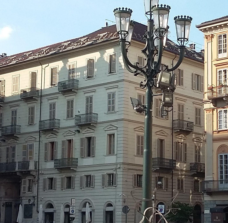 Bâtiment où vécut Nietzsche, au 6 rue Carlo Alberto (au 3ème étage)