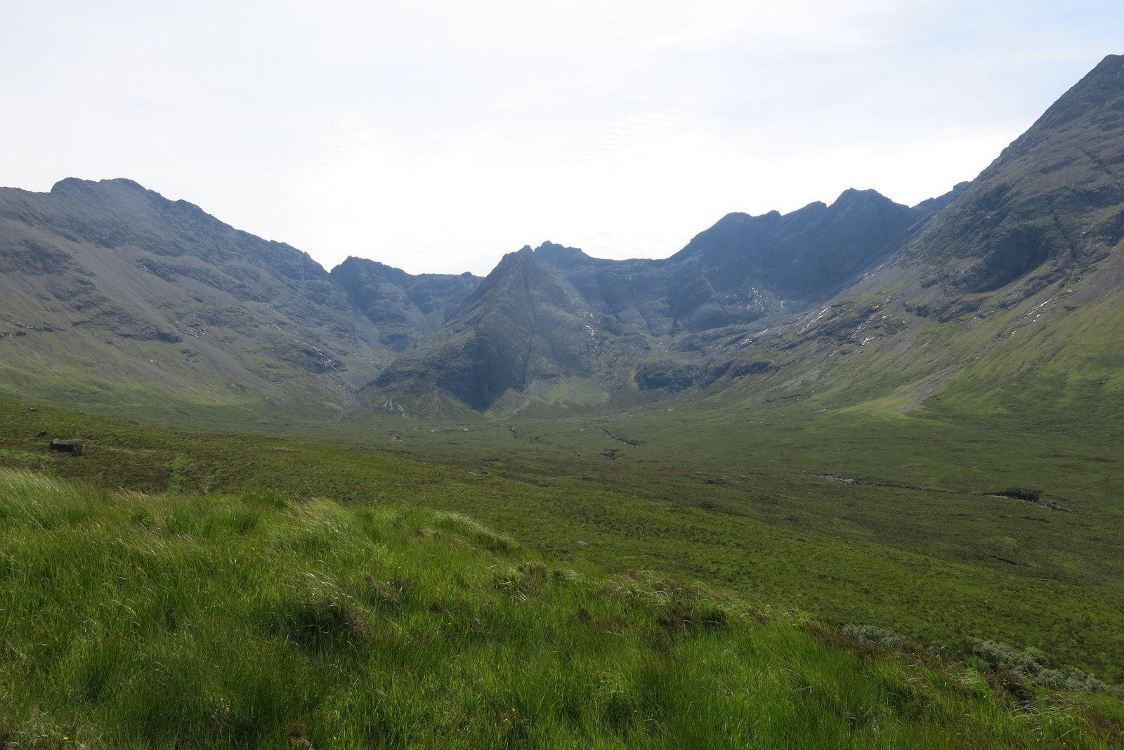 Les Cuillin hills, photo de Suzanne