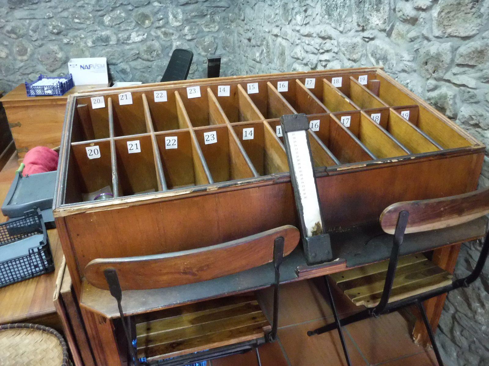 Table de calibrage et calibrage de la vanille Bourbon