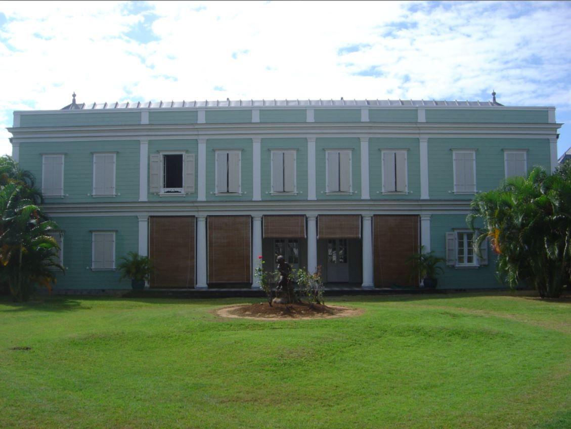 La maison natale de Raymond Barre à Saint Denis de La Réunion.