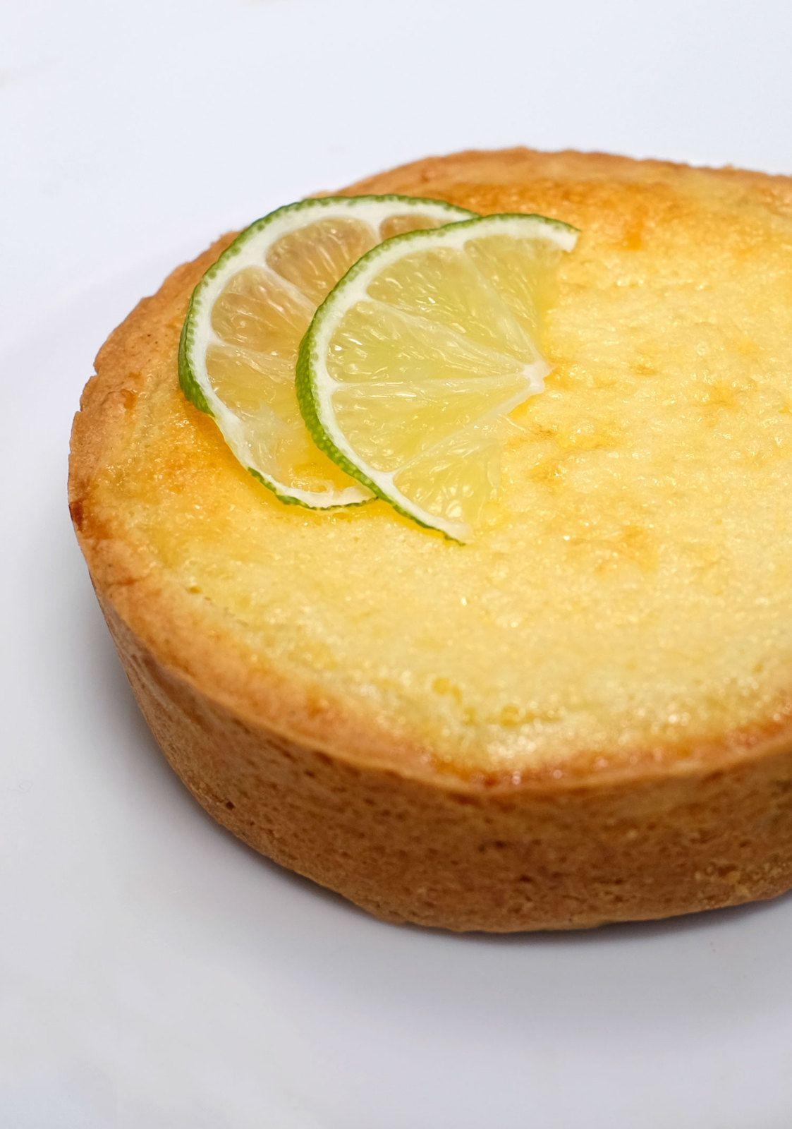Tartelettes moelleuses au citron vert