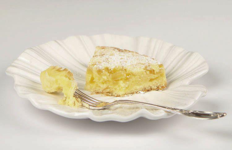 Gâteau moelleux aux zestes de citron confits