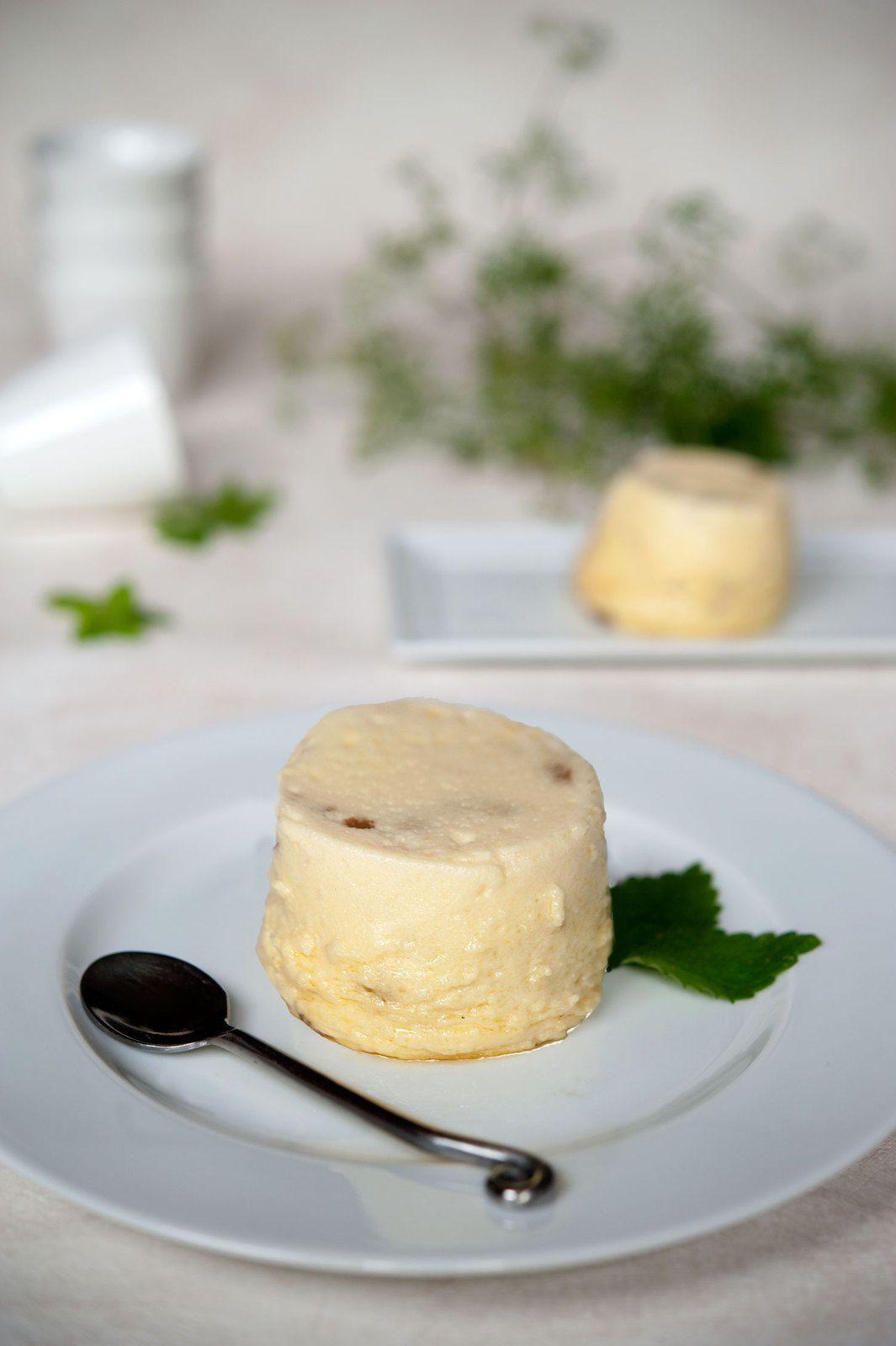Flans au parmesan et champignons