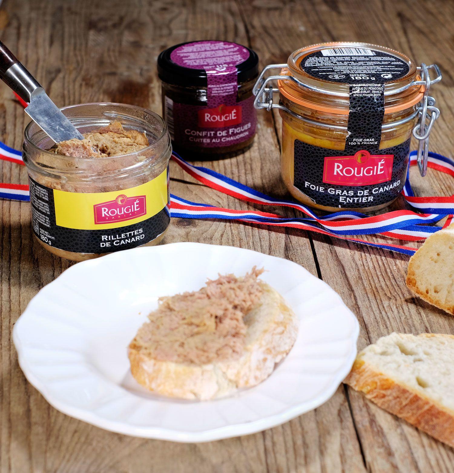 Vous voulez gagner un bon d'achat chez Rougié, le spécialiste du foie gras des chefs, c'est cadeau !