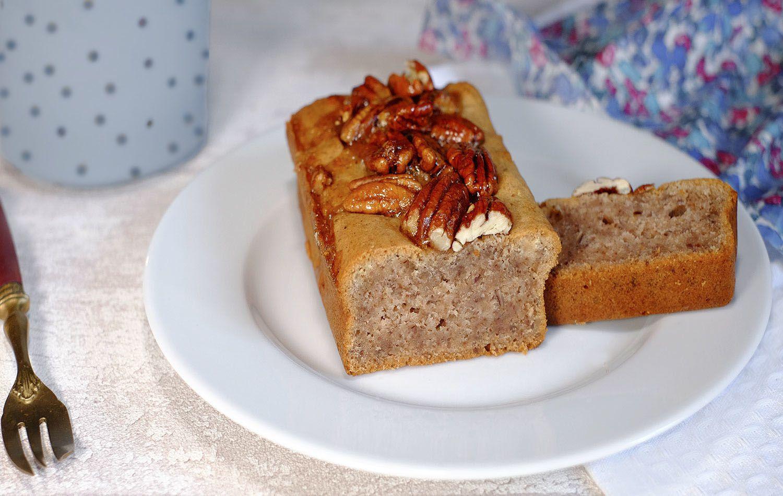 Gâteau-pain aux noix de pécan et au miel