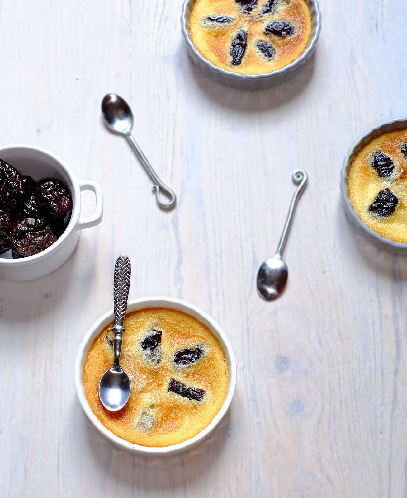 Crème sucrée de haricots tarbais aux pruneaux (veggie et sans gluten)