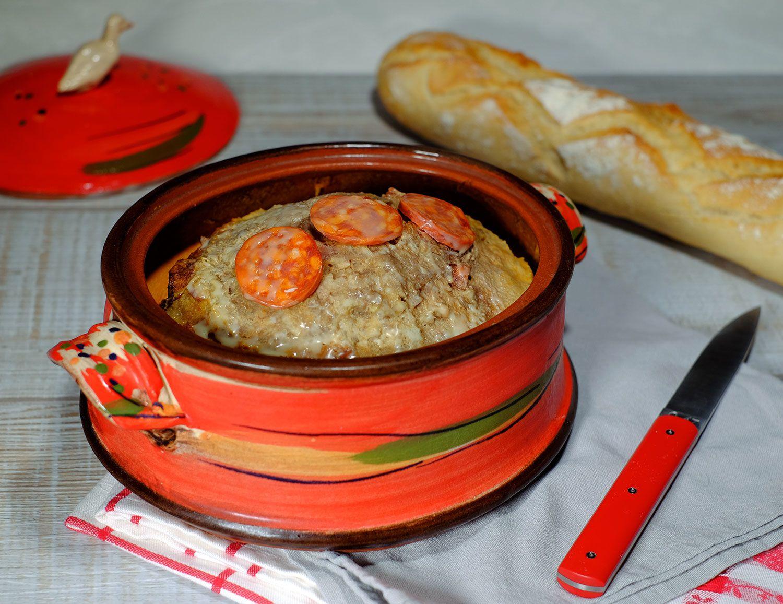 Terrine de veau à l'Armagnac et au chorizo