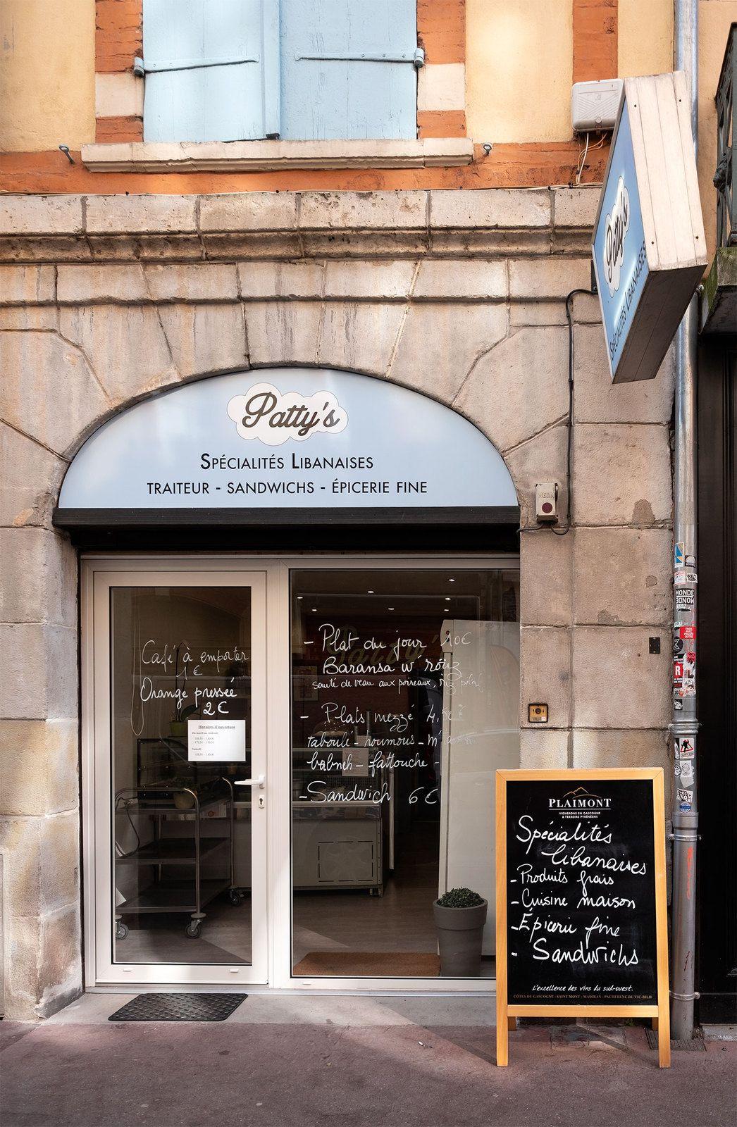 La boutique Patty's pour les initiés toulousains ou pas... rue pharaon