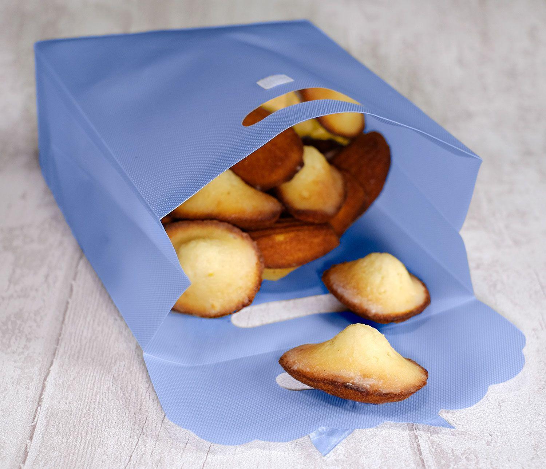 Madeleines glacées au yuzu (ou citron), à la recherche de la madeleine parfaite !