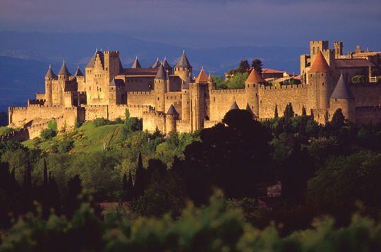 Carcassonne, le temps d'un week-end en arrière saison….