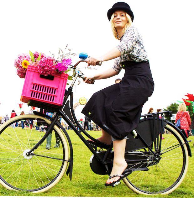 Se protéger de la pluie tout en restant chic à vélo !