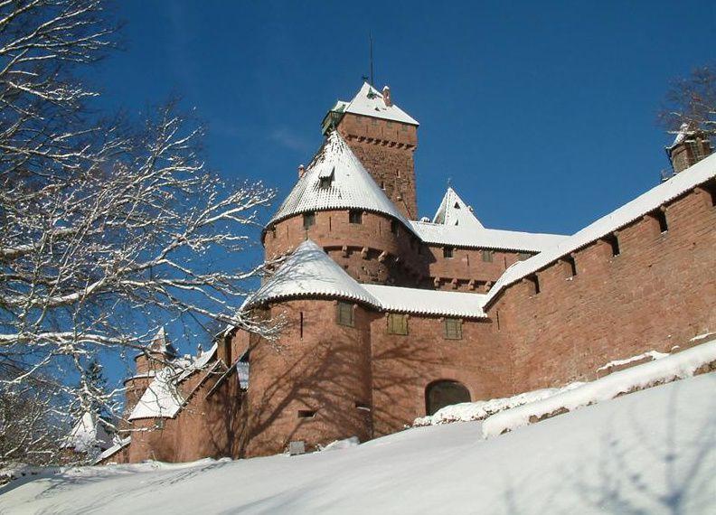 Le château du Haut-Koenigsbourg se met aux couleurs de Noël
