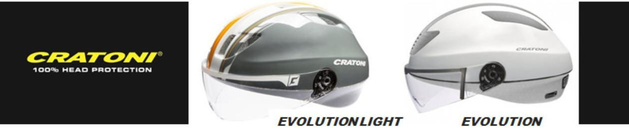 "Des casques vélo high-tech ""Evolution"" by Cratoni"
