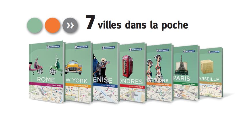 Michelin publie sept nouveaux guides