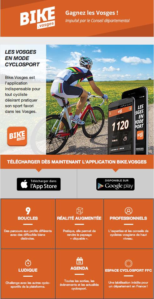 Les Vosges en mode cyclosport !