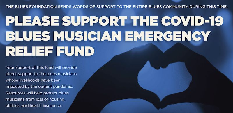 La Blues Foundation lance son fonds de soutien