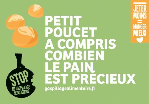 """Si l'antigaspi m'était conté... : """"Jeter moins c'est manger mieux"""" I Campagne de communication du ministère de l'Agriculture contre le gaspillage alimentaire (octobre 2016)"""