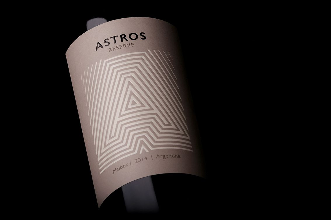 Astros (vin) I Design : Guillo Milia Branding+Communication, Mendoza, Argentine (octobre 2016)