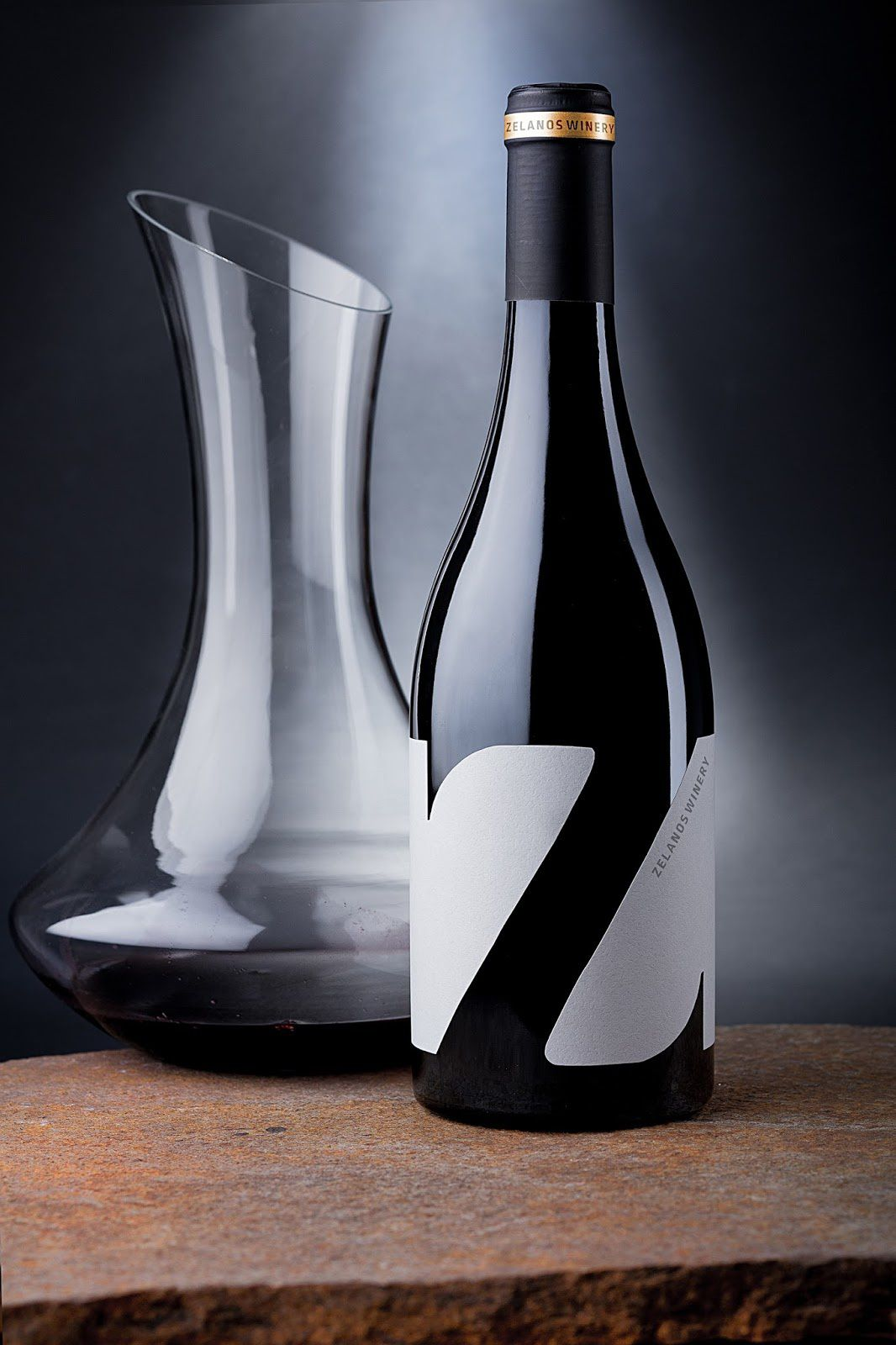 """Z"" - Zelanos Winery (vin) I Design : the Labelmaker, Bulgarie (octobre 2016)"