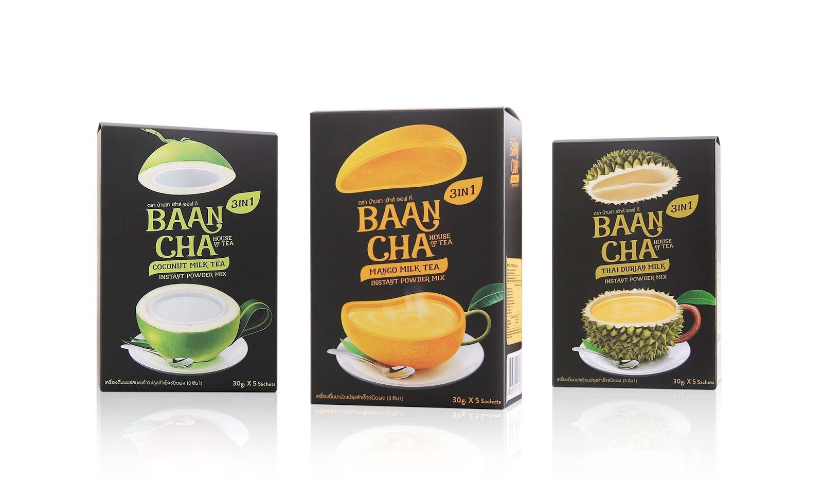 BaanCha - BCT Baancha (thé) I Design : adHOCK Studio, Bangkok, Thaïlande (octobre 2016)