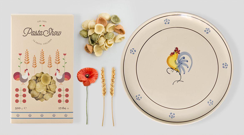 Pasta Show (pâtes) I Design (concept) : Cream Studio, Italie (novembre 2016)