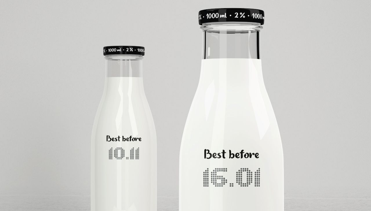 """""""Best before"""" (lait) I Design (concept) : Victor Nikishov, Ukraine (février 2017)"""