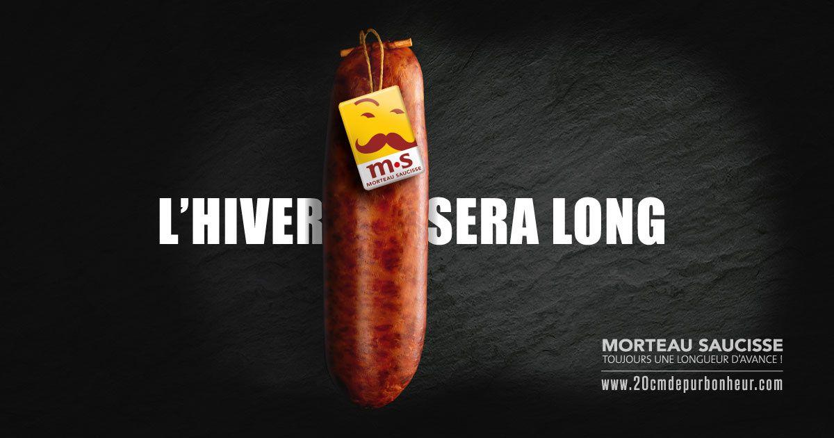 """""""Saucisse de Morteau, toujours une longueur d'avance !"""" I Saucisse de Morteau, www.20cmdepurbonheur.com (février 2017))"""