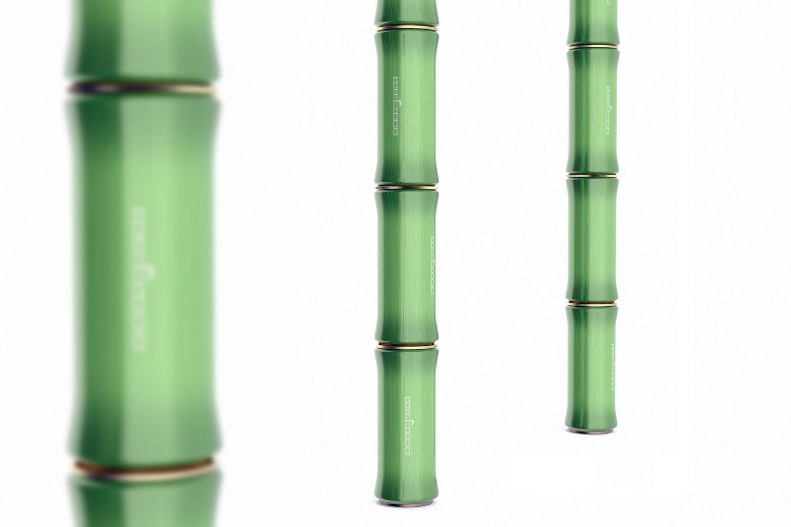 Bamboo (boisson de bambou) I Design (concept) : Marcel Sheishenov, Bishkek, Kyrgyzstan (juillet 2017)