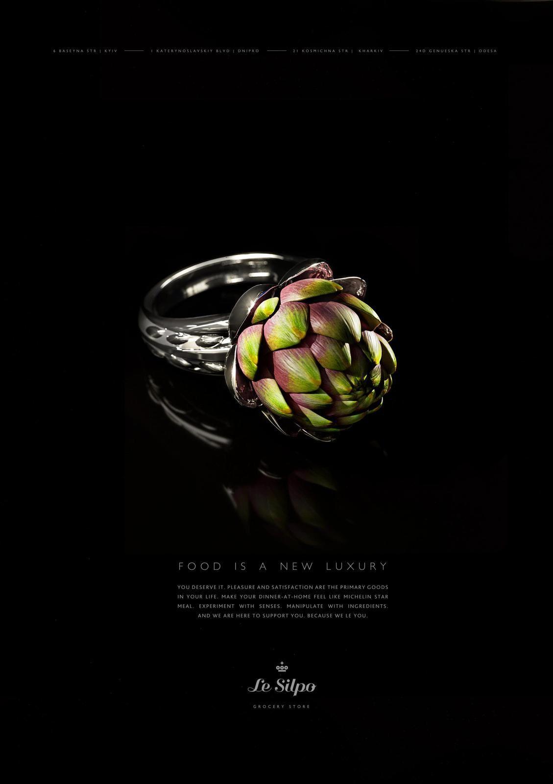 "Le Silpo Delicacy Grocery - ""Food is a New Luxury"" I Agence : Tough Slate Design, Kyiv, Ukraine (août 2017)"