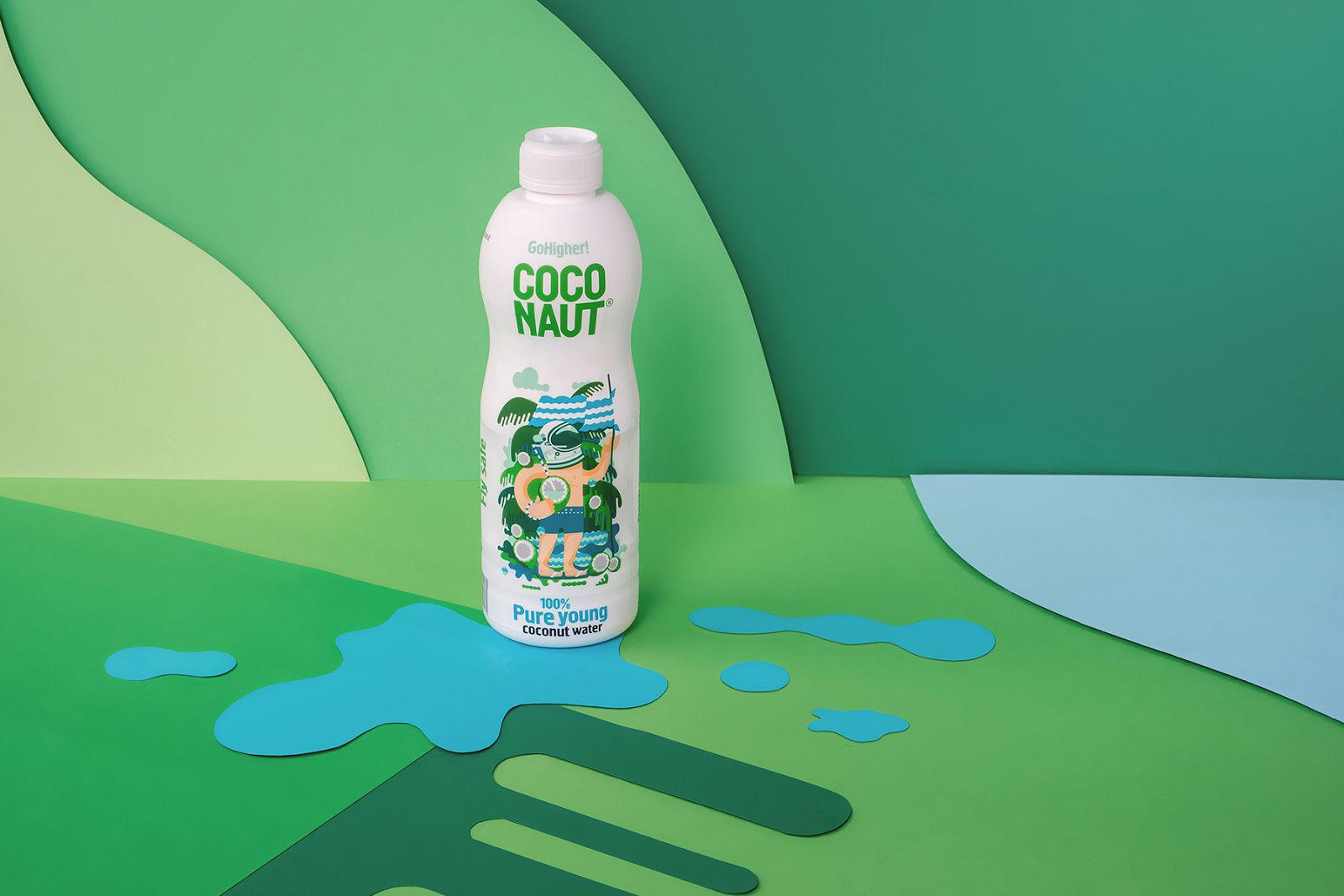 Coconaut® - GoHigher ! (eau de coco) I Design : Sixtyone Yards, Pologne (septembre 2017)