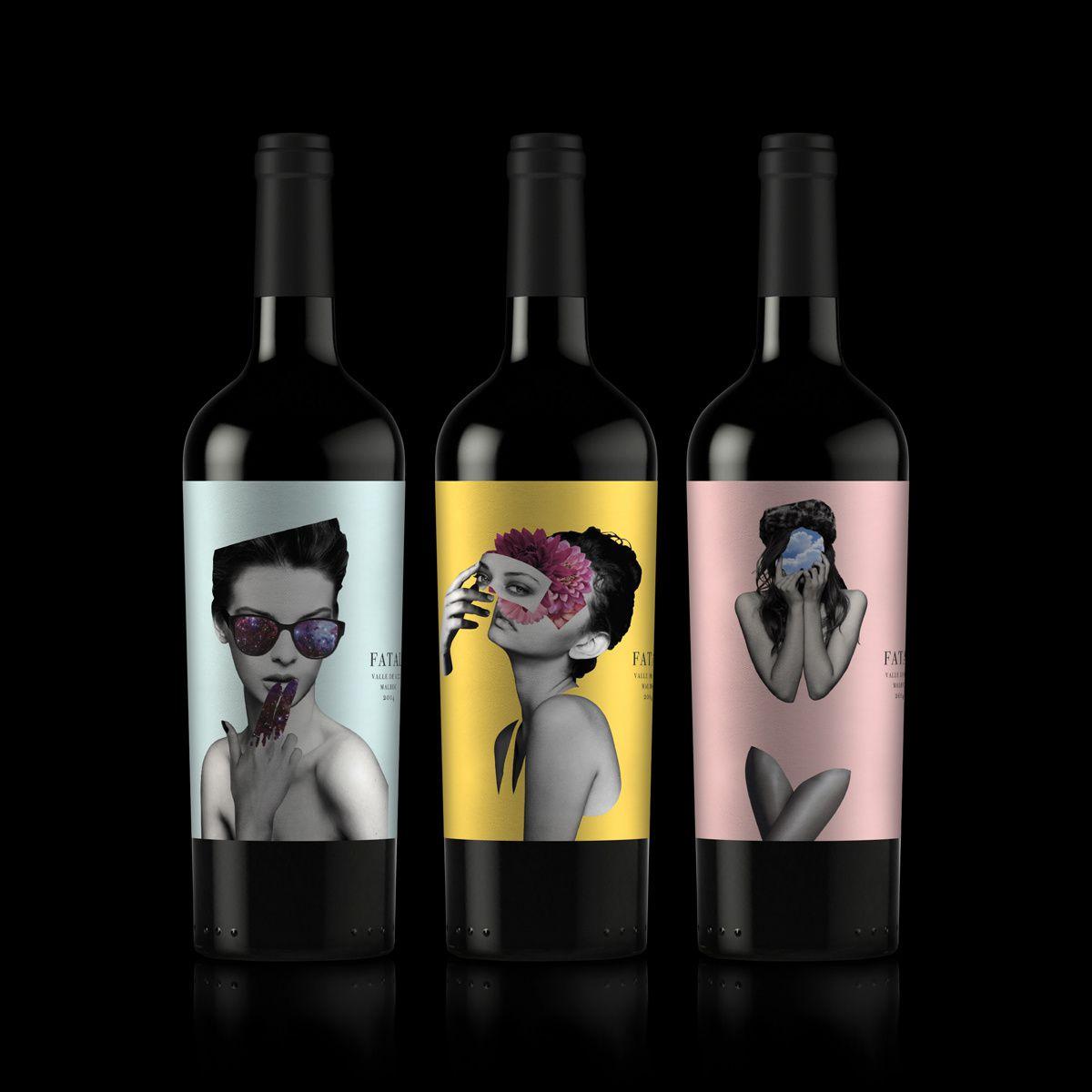 Fatal wine (vin argentin) I Design : Miguel Quiroga, Argentine (septembre 2017)
