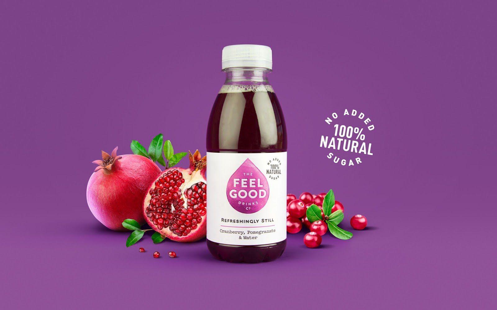 Feel Good (boissons) I Design : Robot Food, Leeds, Angleterre (octobre 2017)