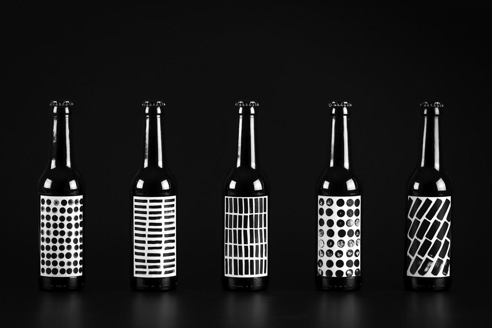 """Terminalizm (bières imaginées par l'agence pour son auto-promotion, en créant son propre mouvement artistique : """"Terminalizm"""") I Design : Terminal design, Saint-Pétersbourg, Russie (janvier 2018)"""