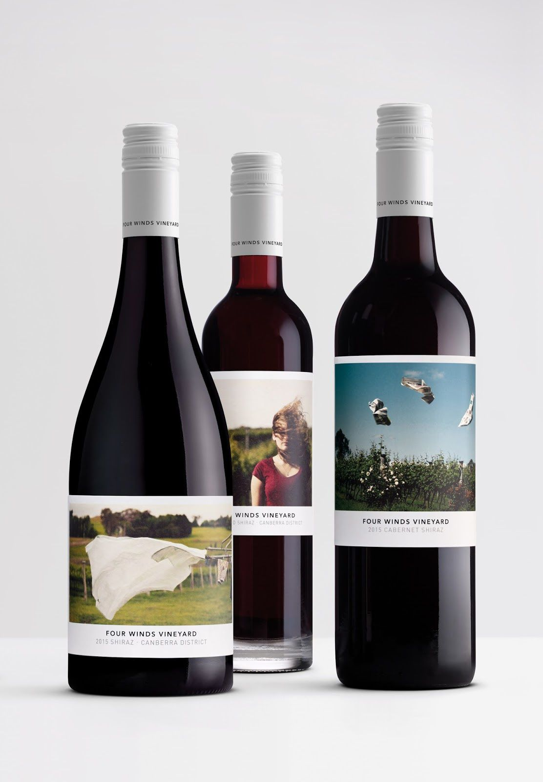 Four Winds Vineyard (vin australien) I Design : Denomination, Australie (février 2018)