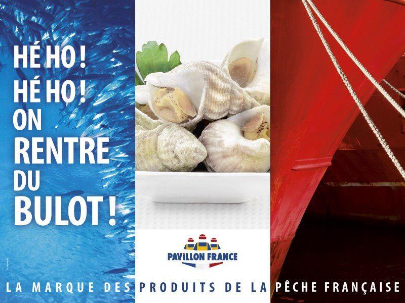 """Pavillon France - """"Le meilleur poisson d'avril est dans l'assiette"""" I Agence : Les gros mots, Paris, France (avril 2018)"""