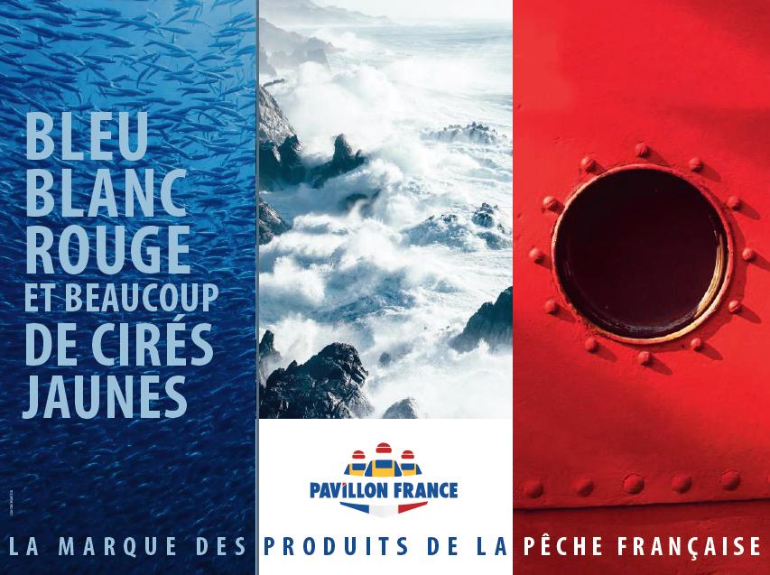 """Pavillon France - """"Mangez frais, mangez français !"""" I Agence : Les gros mots, Paris, France (août 2017)"""