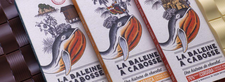 """La Baleine à Cabosse (1ère chocolaterie artisanale """"bean-to-bar""""/""""de la fève à la tablette"""" de Marseille) I Design : 2S Global Design, Marseille, France (avril 2018)"""