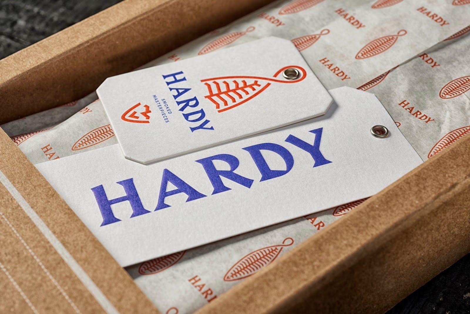Hardy (poissons fumés premium) I Design : This is Pacifica, Porto, Portugal (mai 2018)