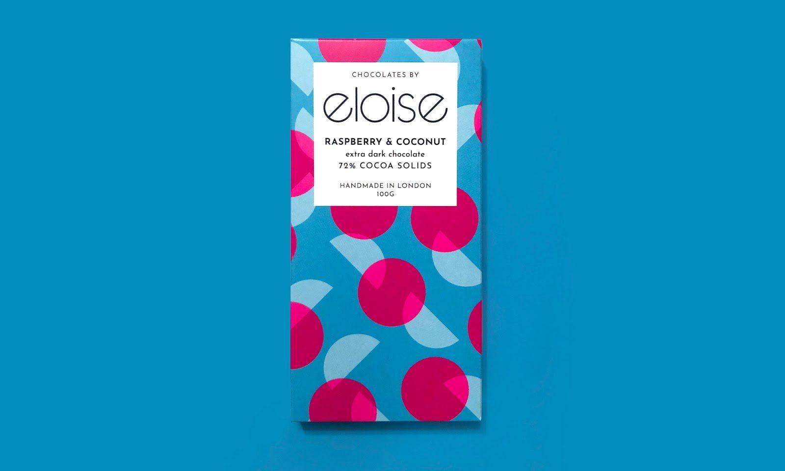 Chocolates by Eloise (chocolats belges artisanaux) I Design : NotOnSunday, Londres, Royaume-Uni (mai 2018)