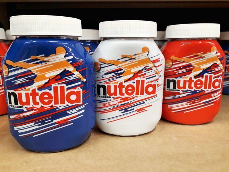 Nutella, édition limitée bleu blanc rouge - Photo : © Communication (Agro)Alimentaire