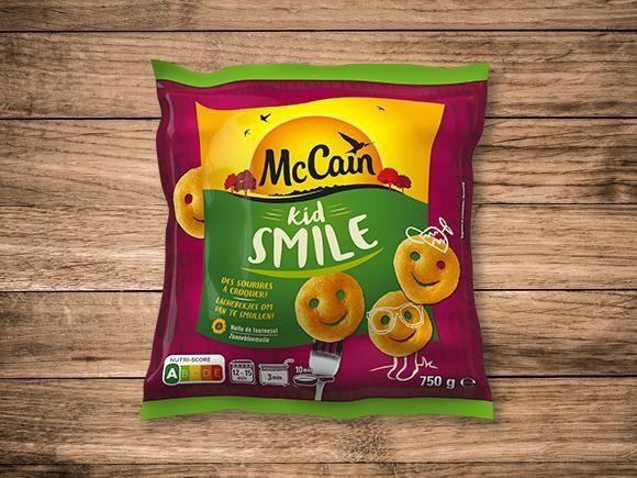 Kid Smile (beignets de pommes de terre) -  McCain x Smiley®